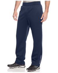 Under Armour | Blue Men's Solid Fleece Performance Pants for Men | Lyst