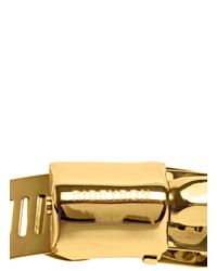 Ribeyron - Metallic Large Gold Screw Bracelet - Lyst