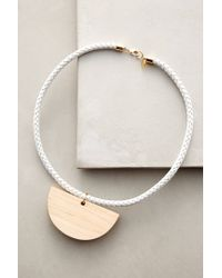 Sophie Monet - White Siren Song Necklace - Lyst