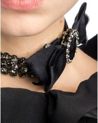 Lanvin | Black Necklace | Lyst