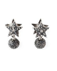 Givenchy - Metallic Star Earrings - Lyst