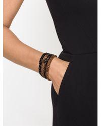 Brunello Cucinelli | Metallic Crystal Bracelet | Lyst