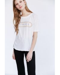 Truly Madly Deeply | White Venice Tee | Lyst