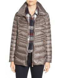 Bernardo - Brown Packable Down & Primaloft Jacket, Grey - Lyst