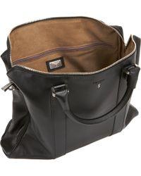 Serapian - Black Double Handle Briefcase for Men - Lyst