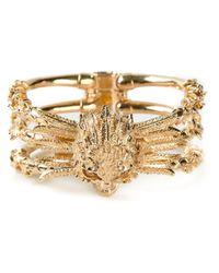 Alexander McQueen | Metallic Skull Bracelet | Lyst