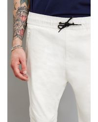 Forever 21 | White Reason Zip Pocket Joggers for Men | Lyst