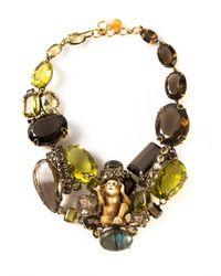 Iradj Moini | Multicolor Statement Necklace | Lyst