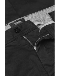 BOSS Black Regular-fit Cotton-blend Chinos 'crigan2-d' for men