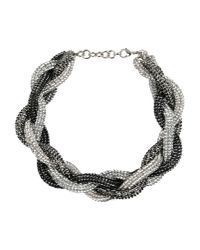 Atelier Swarovski | Metallic Necklace | Lyst