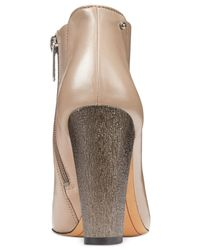 Circus by Sam Edelman | Gray Bond Dress Ankle Booties | Lyst