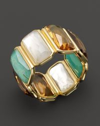 Ippolita | Multicolor 18k Gold Rock Candy Gelato Fancy Rectangle Lollipop Ring in Sailor | Lyst