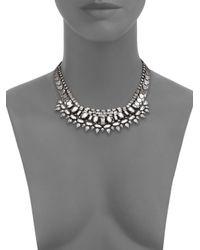 DANNIJO | Metallic Scott Crystal Collar Necklace | Lyst