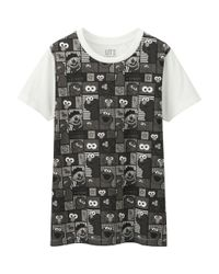 Uniqlo - White Women Sesame Street Short-sleeve Graphic T-shirt - Lyst