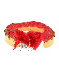 Aurelie Bidermann - Pink 'copacabana' Bracelet - Lyst