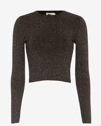 A.L.C. - Black Rene Lurex Sweater - Lyst