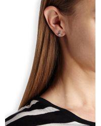 Vivienne Westwood - Metallic Nora Silver Tone Orb Earrings - Lyst