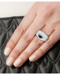 Jennifer Fisher | Metallic Silver-plated Cylinder Ring | Lyst