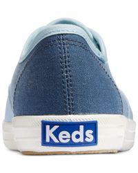 Keds - Blue Champion Seasonal Solids - Lyst