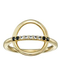 Elizabeth and James | Metallic Aloba Ring | Lyst