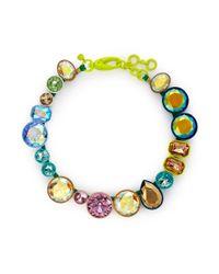 J.Crew - Multicolor Bright Multicrystal Brûlée Necklace - Lyst