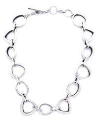 Vaubel | Metallic Linked Ring Necklace | Lyst