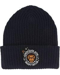 Chocoolate | Blue Beanie Hat for Men | Lyst