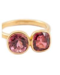 Marie-hélène De Taillac | Metallic Tourmaline Ring | Lyst