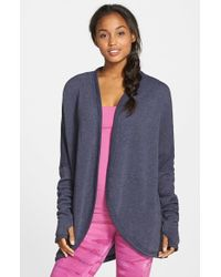 Hard Tail - Blue Cocoon Cardigan - Lyst