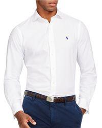 Polo Ralph Lauren | White Twill Estate Shirt for Men | Lyst