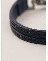 Tod's | Blue Clip Fastening Bracelet for Men | Lyst