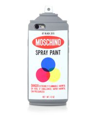 Moschino - Multicolor Spray Can Iphone 6 Case - Lyst