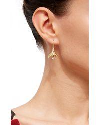 Annette Ferdinandsen | Metallic Snow Drop Earrings | Lyst