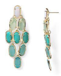 Kendra Scott | Green Embry Earrings | Lyst