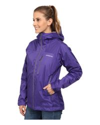 Patagonia | Purple Insulated Torrentshell Jacket | Lyst