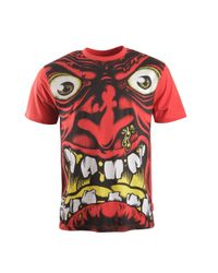 Santa Cruz | Red Rob Face Short Sleeve T-shirt for Men | Lyst