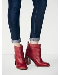 Free People | Multicolor Fp Collection Womens Mccall Heel Boot | Lyst