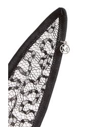 Maison Michel - Black Lace Rabbit Ears Hairband - Lyst