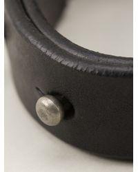 Rick Owens - Black Small Bracelet for Men - Lyst