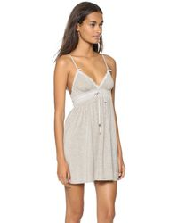 Juicy Couture - Gray Sleep Essential Nightgown - Lyst