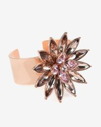 Ted Baker - Natural Statement Floral Cuff - Lyst
