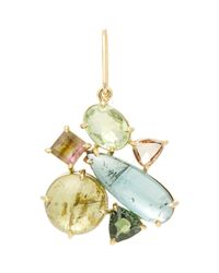 Sharon Khazzam | Metallic Multi-gemstone Norma Earring | Lyst