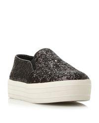 Steve Madden - Black Bubah Slip On Fashion Sneakers - Lyst