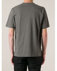 Dolce & Gabbana - Gray King Print T-Shirt for Men - Lyst