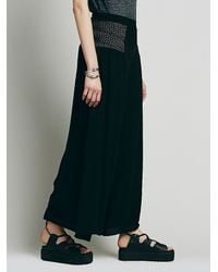 Free People - Black Endless Summer Womens Lola Pant - Lyst