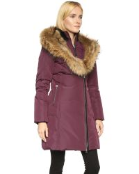 Mackage | Purple Trish Coat | Lyst