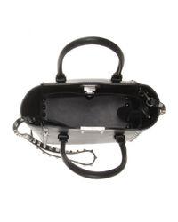 Valentino - Black Rockstud Noir Leather Shoulder Bag - Lyst