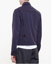 Kolor - Blue D-vent Back Jacket for Men - Lyst
