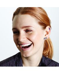 Pamela Love | Blue Cluster Earrings | Lyst