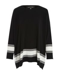Eskandar - Black Raw Edge Cashmere Knit Jumper - Lyst